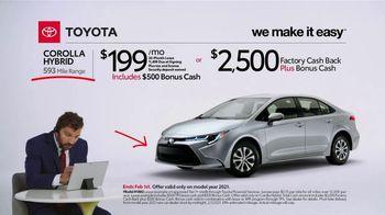 2021 Toyota Corolla Hybrid TV Spot, 'Commentary: Corolla Hybrid' [T2] - Thumbnail 3