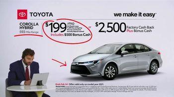 2021 Toyota Corolla Hybrid TV Spot, 'Commentary: Corolla Hybrid' [T2] - Thumbnail 4