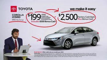 2021 Toyota Corolla Hybrid TV Spot, 'Commentary: Corolla Hybrid' [T2] - Thumbnail 5