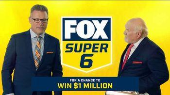 FOX Sports Super 6 TV Spot, 'Win $1 Million of Terry's Money' Featuring Terry Bradshaw, Howie Long