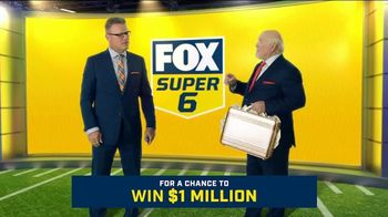 FOX Sports Super 6 TV Spot, 'Win $1 Million of Terry's Money' Featuring Terry Bradshaw, Howie Long - Thumbnail 5