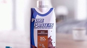 Pure Protein TV Spot, 'Feed a Healthy Lifestyle: Shakes' - Thumbnail 1