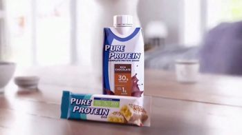 Pure Protein TV Spot, 'Feed a Healthy Lifestyle: Shakes' - Thumbnail 2