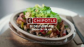 Chipotle Mexican Grill TV Spot, 'Christina: $1 Delivery' - Thumbnail 7
