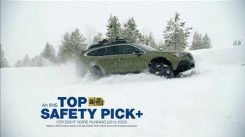 2021 Subaru Outback TV Spot, 'Best Winter Ever: Outback' [T2] - Thumbnail 5