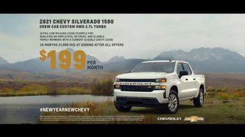 2021 Chevrolet Silverado TV Spot, 'New Year's: Just Better: Home Sweet Home' [T2] - Thumbnail 5