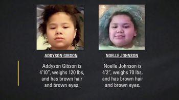 National Center for Missing & Exploited Children TV Spot, 'Addyson Gibson and Noelle Johnson' - Thumbnail 9