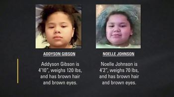 National Center for Missing & Exploited Children TV Spot, 'Addyson Gibson and Noelle Johnson' - Thumbnail 8