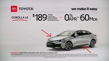 2021 Toyota Corolla TV Spot, 'Commentary: Corolla' [T2] - Thumbnail 3