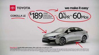 2021 Toyota Corolla TV Spot, 'Commentary: Corolla' [T2] - Thumbnail 4