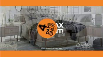 Ashley HomeStore New Year's Sale TV Spot, 'Sales Tax Discount' - Thumbnail 5