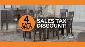 Ashley HomeStore New Year's Sale TV Spot, 'Sales Tax Discount' - Thumbnail 6