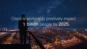 Cisco TV Spot, 'The Bridge to Possible: Powering an Inclusive Future for All' - Thumbnail 4