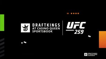 DraftKings at Casino Queen Sportsbook TV Spot, 'UFC 259: Stacks' - Thumbnail 1