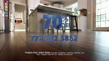 Luna Flooring 70% Off Sale TV Spot, 'Confident' - Thumbnail 9