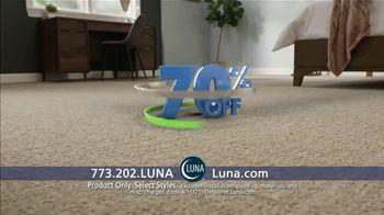 Luna Flooring 70% Off Sale TV Spot, 'Confident' - Thumbnail 6