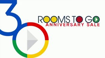 Rooms to Go 30th Anniversary Sale TV Spot, 'Upholstered Bed Sets' - Thumbnail 2