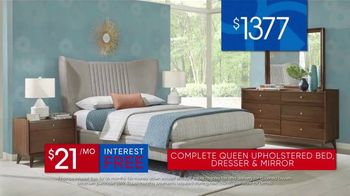 Rooms to Go 30th Anniversary Sale TV Spot, 'Upholstered Bed Sets' - Thumbnail 8