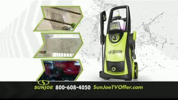 Sun Joe SPX3000 Xtream Pressure Washer TV Spot, 'Grime is Gone: Two Free Brushes'