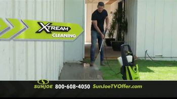 Sun Joe SPX3000 Xtream Pressure Washer TV Spot, 'Grime is Gone: Two Free Brushes' - Thumbnail 3
