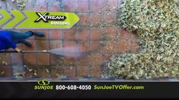 Sun Joe SPX3000 Xtream Pressure Washer TV Spot, 'Grime is Gone: Two Free Brushes' - Thumbnail 4