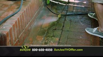 Sun Joe SPX3000 Xtream Pressure Washer TV Spot, 'Grime is Gone: Two Free Brushes' - Thumbnail 5