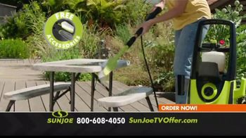 Sun Joe SPX3000 Xtream Pressure Washer TV Spot, 'Grime is Gone: Two Free Brushes' - Thumbnail 7