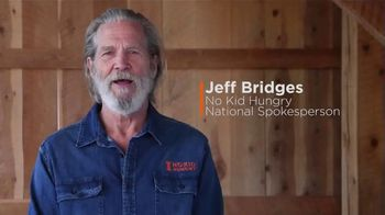No Kid Hungry TV Spot, 'Pandemic' Featuring Jeff Bridges