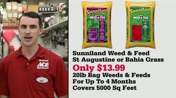 ACE Hardware TV Spot, 'Sunniland Weed & Feed: $13.99' - Thumbnail 6