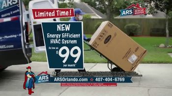 ARS Rescue Rooter TV Spot, 'Spring Into Summer: HVAC System for $99 per Month' - Thumbnail 4