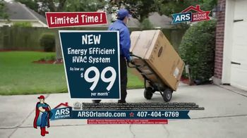 ARS Rescue Rooter TV Spot, 'Spring Into Summer: HVAC System for $99 per Month' - Thumbnail 5
