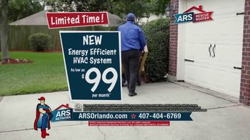 ARS Rescue Rooter TV Spot, 'Spring Into Summer: HVAC System for $99 per Month' - Thumbnail 6