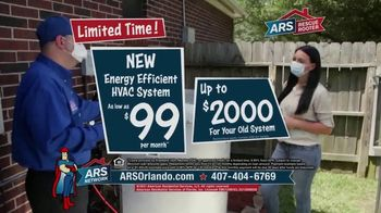 ARS Rescue Rooter TV Spot, 'Spring Into Summer: HVAC System for $99 per Month' - Thumbnail 7