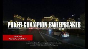Caesars Entertainment TV Spot, 'Poker Champion Sweepstakes' - Thumbnail 5