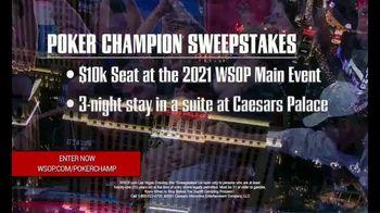 Caesars Entertainment TV Spot, 'Poker Champion Sweepstakes' - Thumbnail 7