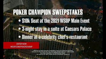 Caesars Entertainment TV Spot, 'Poker Champion Sweepstakes' - Thumbnail 8