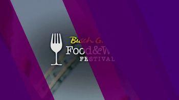 Busch Gardens TV Spot, '2021 Food & Wine Festival'