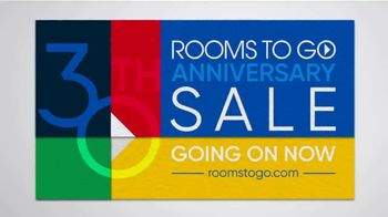 Rooms to Go 30th Anniversary Sale TV Spot, 'Contemporary Bedroom Set: $1,277' Song by Junior Senior - Thumbnail 7