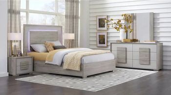 Rooms to Go 30th Anniversary Sale TV Spot, 'Contemporary Bedroom Set: $1,277' Song by Junior Senior - Thumbnail 3