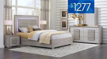 Rooms to Go 30th Anniversary Sale TV Spot, 'Contemporary Bedroom Set: $1,277' Song by Junior Senior - Thumbnail 4