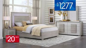 Rooms to Go 30th Anniversary Sale TV Spot, 'Contemporary Bedroom Set: $1,277' Song by Junior Senior - Thumbnail 5