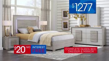 Rooms to Go 30th Anniversary Sale TV Spot, 'Contemporary Bedroom Set: $1,277' Song by Junior Senior - Thumbnail 6
