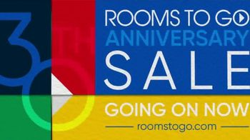 Rooms to Go 30th Anniversary Sale TV Spot, 'Stylish Sectional' Song by Junior Senior - Thumbnail 6
