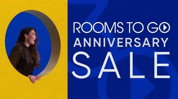 Rooms to Go 30th Anniversary Sale TV Spot, 'Stylish Sectional' Song by Junior Senior - Thumbnail 2
