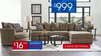 Rooms to Go 30th Anniversary Sale TV Spot, 'Stylish Sectional' Song by Junior Senior - Thumbnail 4