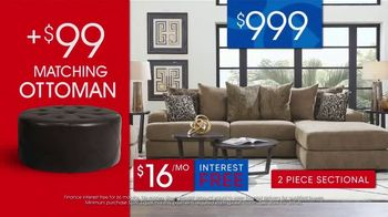 Rooms to Go 30th Anniversary Sale TV Spot, 'Stylish Sectional' Song by Junior Senior - Thumbnail 5