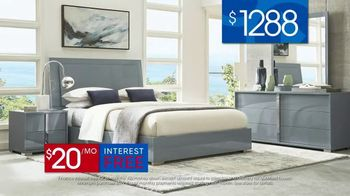 Rooms to Go 30th Anniversary Sale TV Spot, 'Contemporary Bedroom Set' Song by Junior Senior - Thumbnail 7