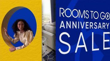 Rooms to Go 30th Anniversary Sale TV Spot, 'Three-Piece Sectional' Song by Junior Senior - Thumbnail 3