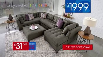 Rooms to Go 30th Anniversary Sale TV Spot, 'Three-Piece Sectional' Song by Junior Senior - Thumbnail 7