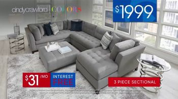 Rooms to Go 30th Anniversary Sale TV Spot, 'Three-Piece Sectional' Song by Junior Senior - Thumbnail 8